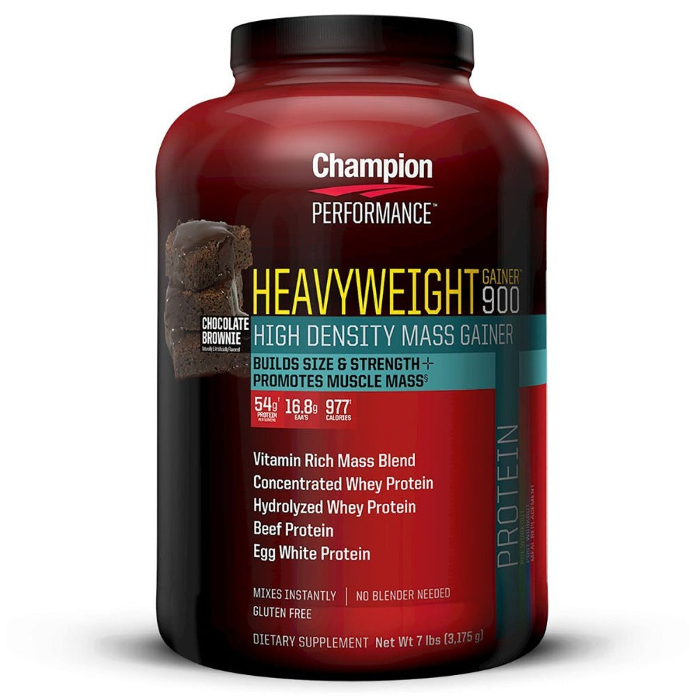 Champion Performance Heavyweight Gainer 900 7 Lbs Protein Champion Nutrition  (1058622472235)
