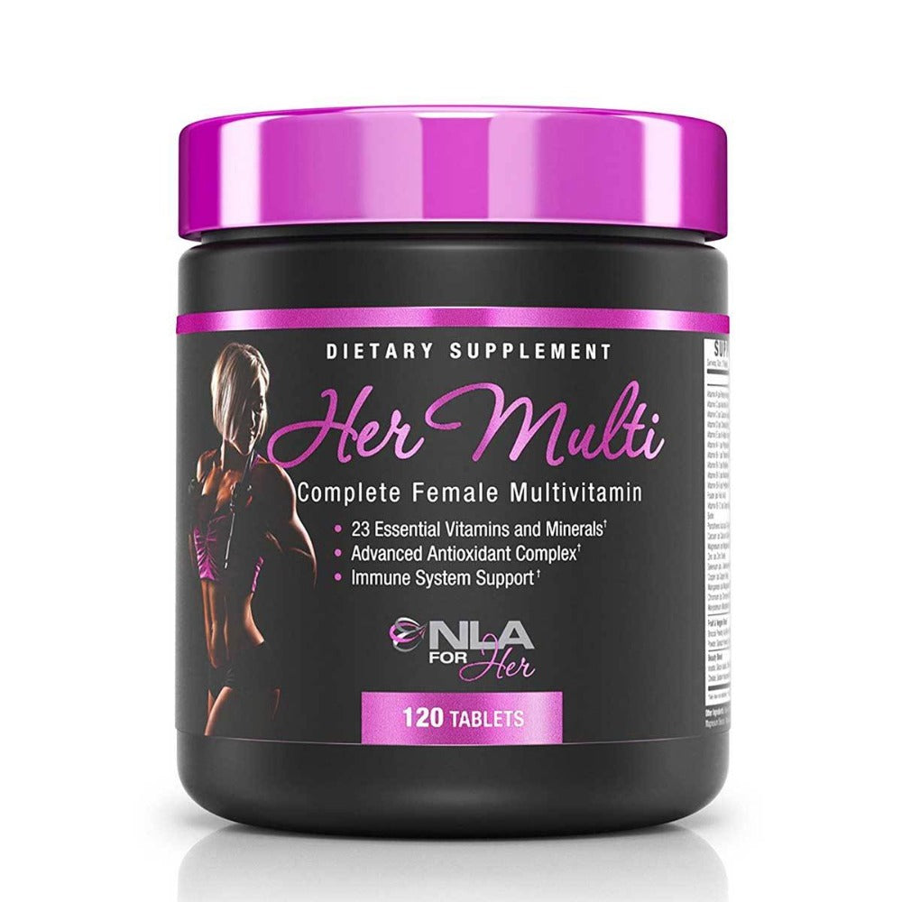 NLA For Her Her Multi 120 Caps Vitamins NLA For Her  (1059174318123)