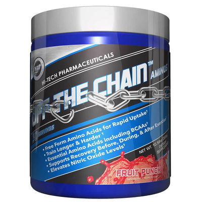 Hi-Tech Pharmaceuticals Off the Chain 30 Servings Amino Acids Hi-Tech Pharmaceuticals Fruit Punch  (1059218456619)