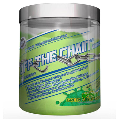 Hi-Tech Pharmaceuticals Off the Chain 30 Servings Amino Acids Hi-Tech Pharmaceuticals Green Apple  (1059218456619)