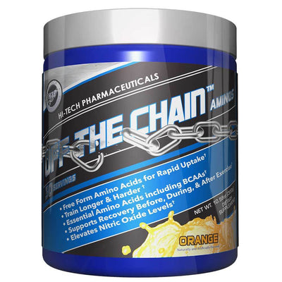 Hi-Tech Pharmaceuticals Off the Chain 30 Servings Amino Acids Hi-Tech Pharmaceuticals Orange  (1059218456619)