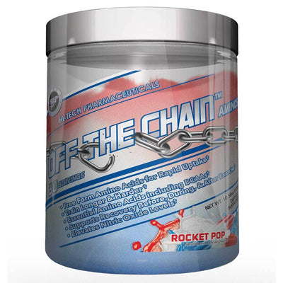 Hi-Tech Pharmaceuticals Off the Chain 30 Servings Amino Acids Hi-Tech Pharmaceuticals Rocket Pop  (1059218456619)