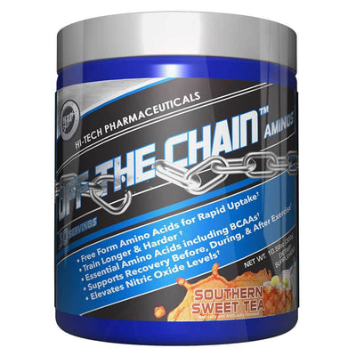 Hi-Tech Pharmaceuticals Off the Chain 30 Servings Amino Acids Hi-Tech Pharmaceuticals Sweet Tea  (1059218456619)