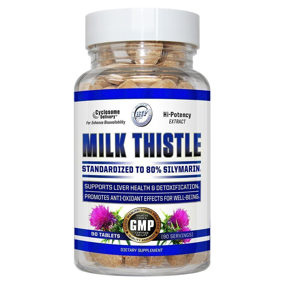 Hi-Tech Pharmaceuticals Milk Thistle 90 Tablets Herbs Hi-Tech Pharmaceuticals  (4330904092737)