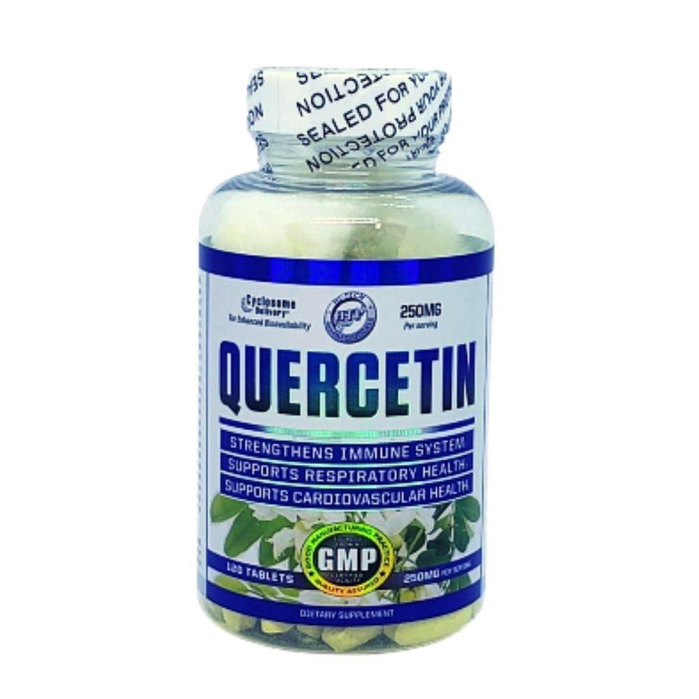 Hi-Tech Pharmaceuticals Quercetin 120t Herbs Hi-Tech Pharmaceuticals  (4607085412417)