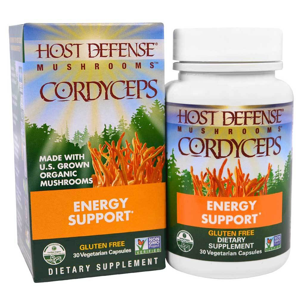 Host Defense Cordyceps 30vc Specialty Health Products Fungi Perfect  (1638793347115)