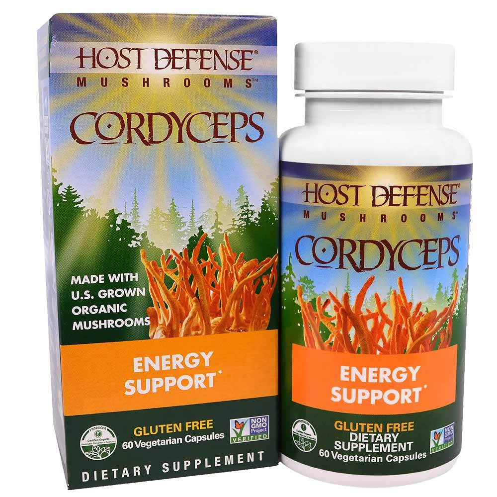 Host Defense Cordyceps 60vc Specialty Health Products Fungi Perfect  (1638797344811)