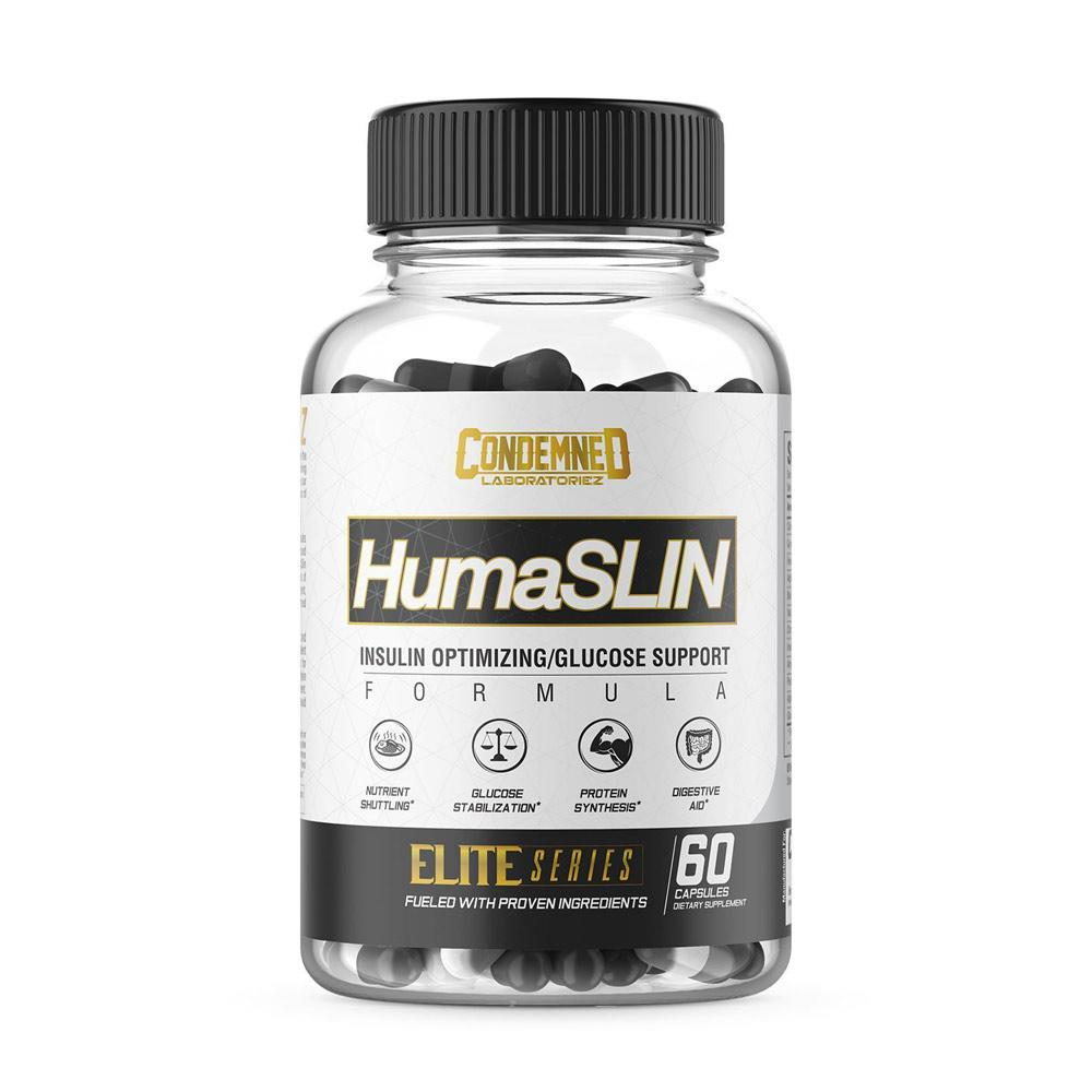 Condemned Labz HumaSLIN 60 Capsules Digestive Health Condemned Labratoriez  (4406507077697)