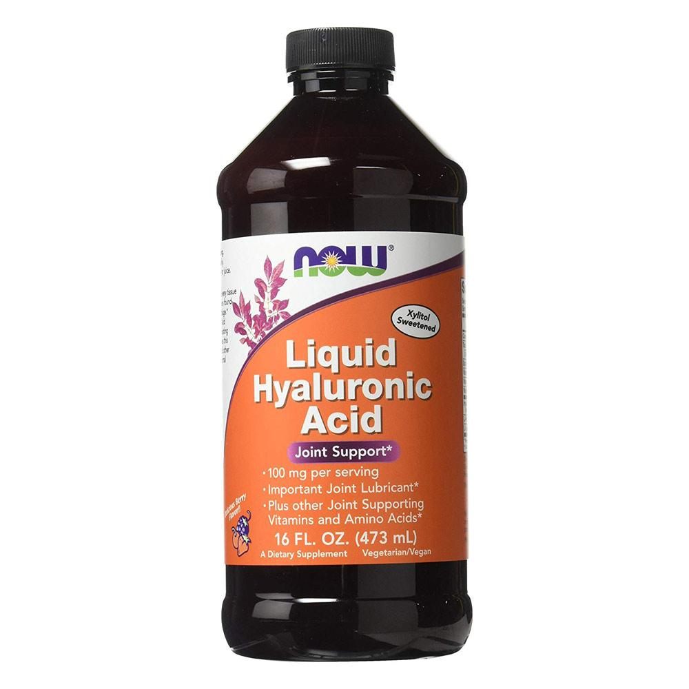 Now Foods Liquid Hyaluronic Acid 100mg 16fl. oz. Personal Care& - Hygeine Now Foods  (1818573307947)