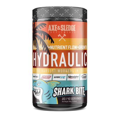 Axe & Sledge Hydraulic Stim-Free Pre-Workout | Pre-Pump Sports Performance Recovery AXE & SLEDGE SHARK BITE  (1812332544043)