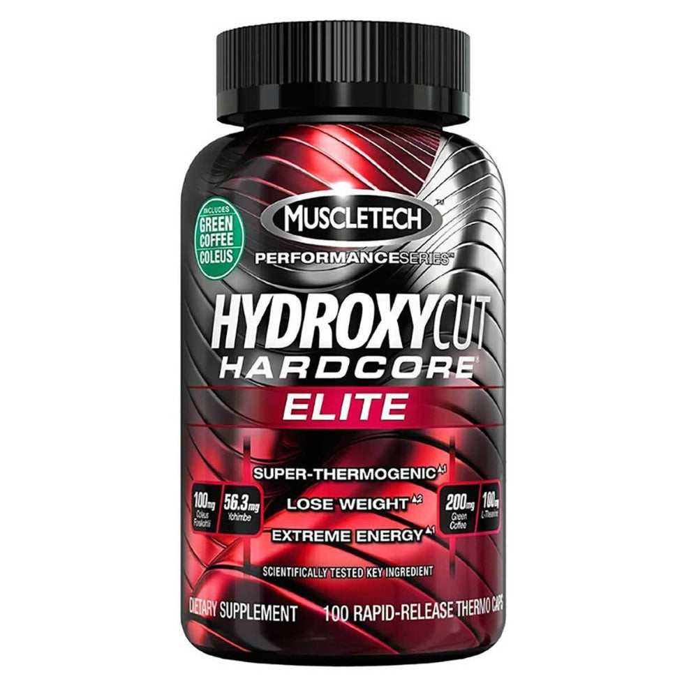 MuscleTech Hydroxycut Hardcore Elite 100 Caps Diet/Energy MuscleTech  (1058761703467)