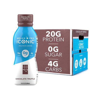 Iconic Protein 12/case Drinks Iconic Protein Chocolate Truffle