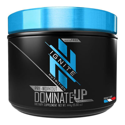 Ignite Dominate-Up 30 Servings Pre-Workouts Ignite ROCKET POP  (4405715337281)