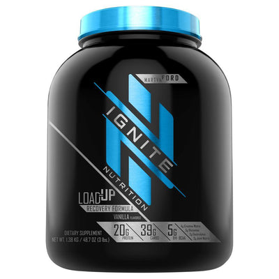 Ignite Load-Up 15 Servings Sports Performance Recovery Ignite Vanilla  (4405708554305)