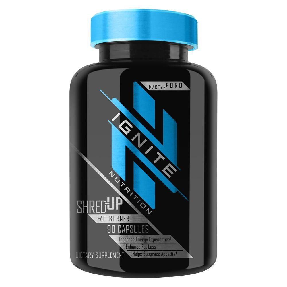 Ignite Shred-Up 90 Capsules Fat Burner Ignite  (4405715238977)