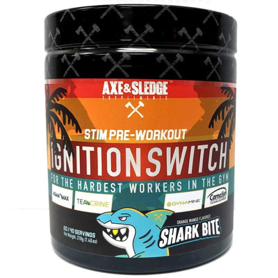 Axe & Sledge Ignition Switch 40 Servings | Stim Pre-Workout Sports Performance Recovery AXE & SLEDGE Shark Bite  (1812332576811)