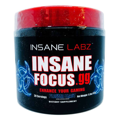 INSANE Insane Focus.GG 30 Servings | Focus, Energy & Mood Specialty Health Products Insane Labz Plasma Blast  (1769023701035)