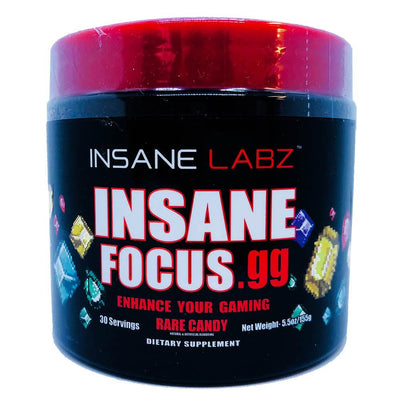 INSANE Insane Focus.GG 30 Servings | Focus, Energy & Mood Specialty Health Products Insane Labz Rare Candy  (1769023701035)