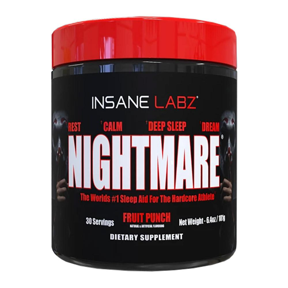 Insane Labz Nightmare 30/Sv Specialty Health Products Insane Labz Fruit Punch  (4593968382017)