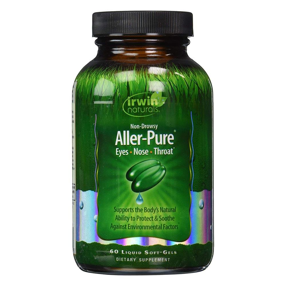 Irwin Naturals Aller-Pure 60 Softgels | Non-Drowsy Specialty Health Products Irwin Naturals  (1776718872619)