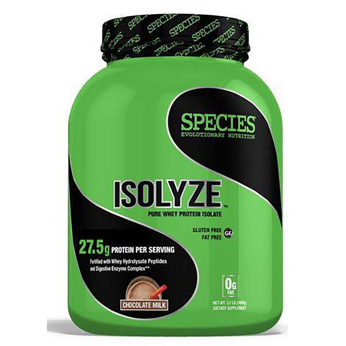 Species Nutrition Isolyze 44 Servings Protein Species Nutrition  (1059091185707)