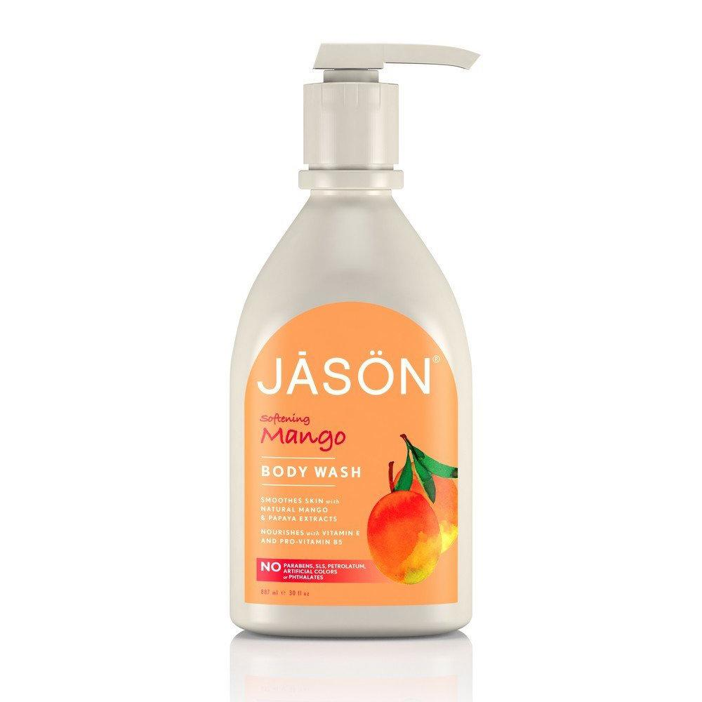 Jason Satin Mango Body Wash 30oz Personal Care& - Hygeine Jason  (1776779821099)