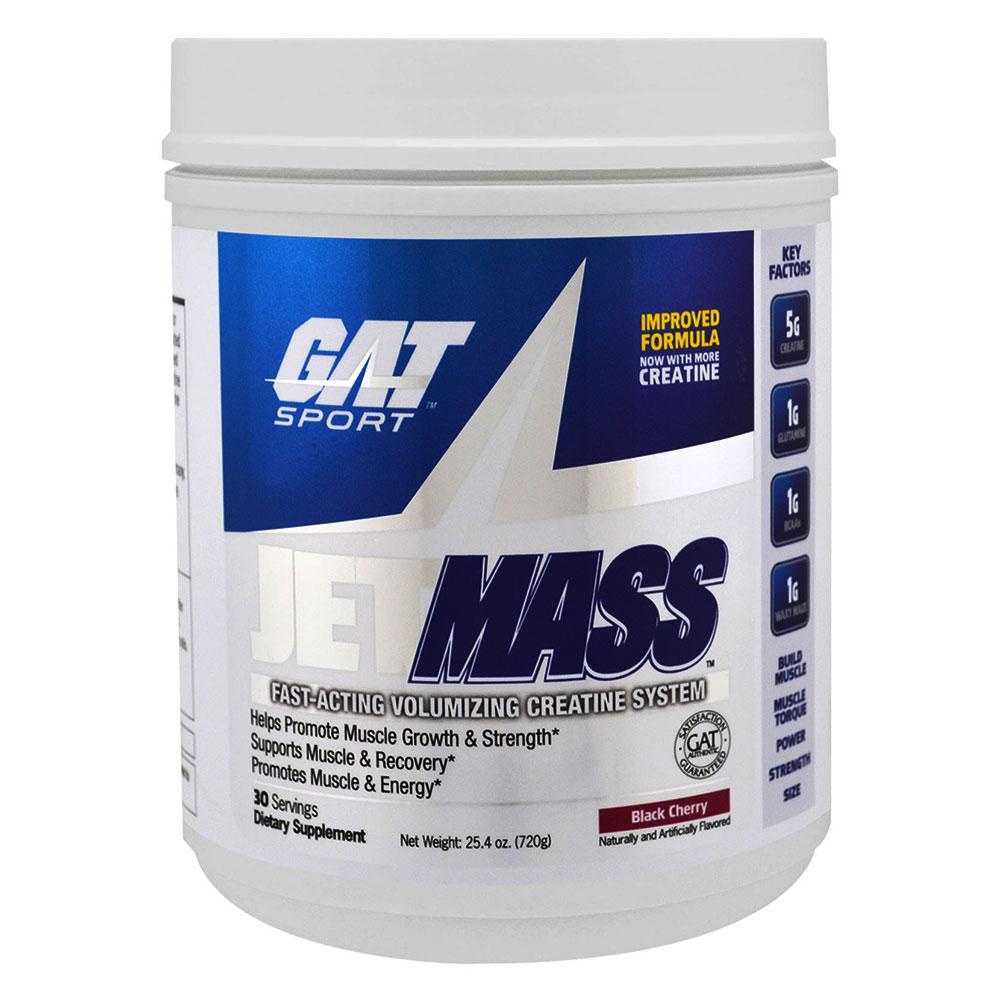 GAT JetMass 30 Servings Creatine GAT Black Cherry  (1557008056363)