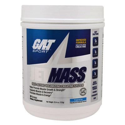 GAT JetMass 30 Servings Creatine GAT Tropical Ice  (1557008056363)