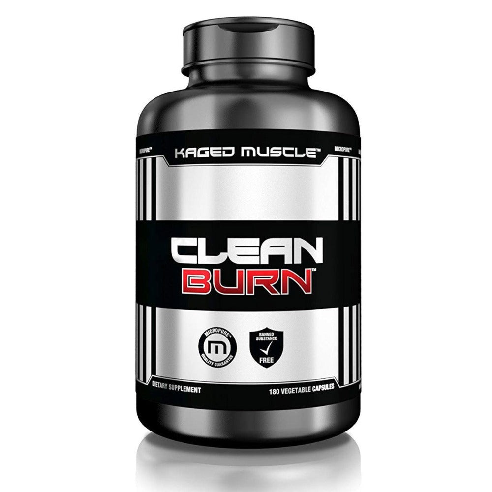 Kaged Muscle Clean Burn 180 Capsules Fat Burner Kaged Muscle  (1531847376939)