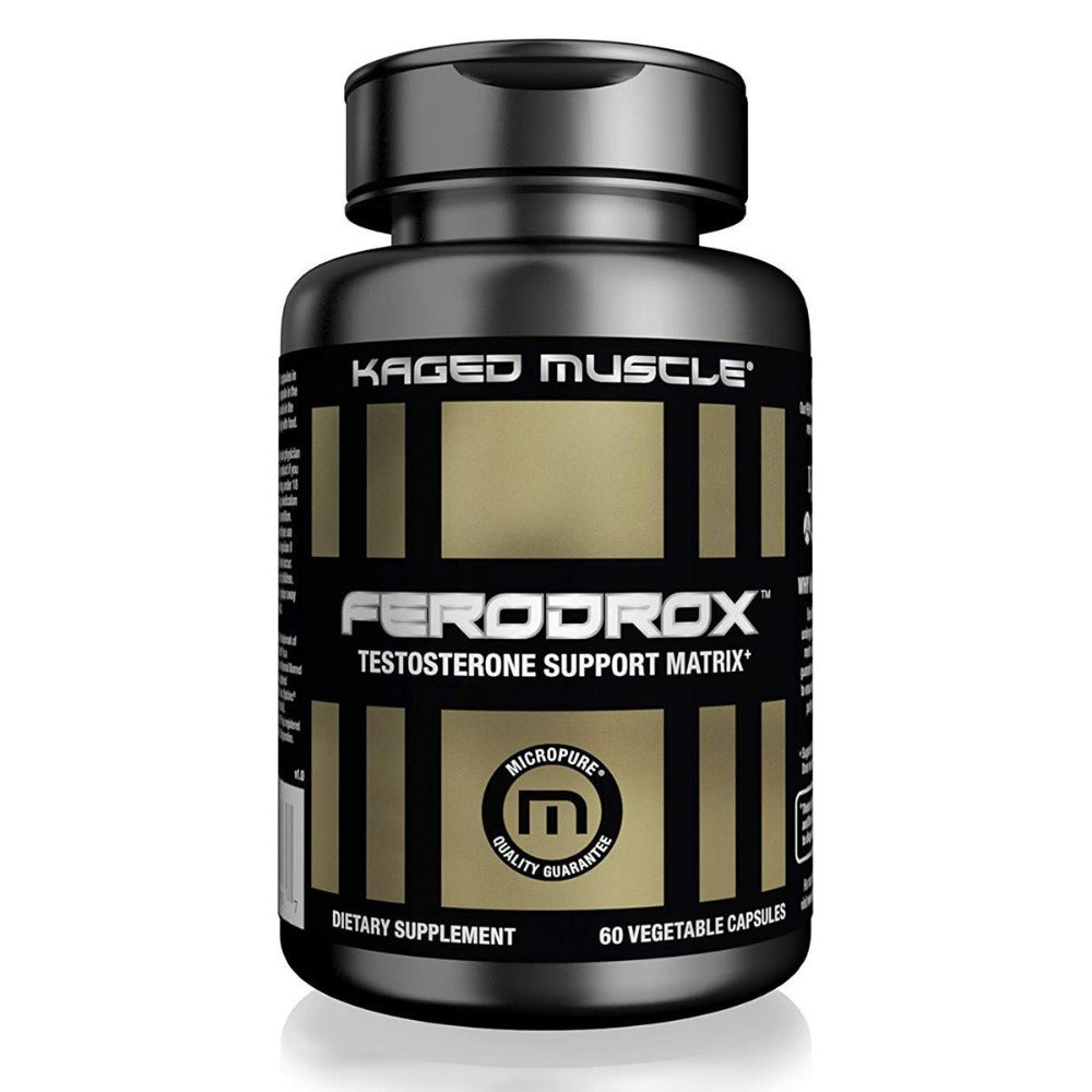 Kaged Muscle Ferodrox 60 Capsules Testosterone Boosters Kaged Muscle  (1532050735147)