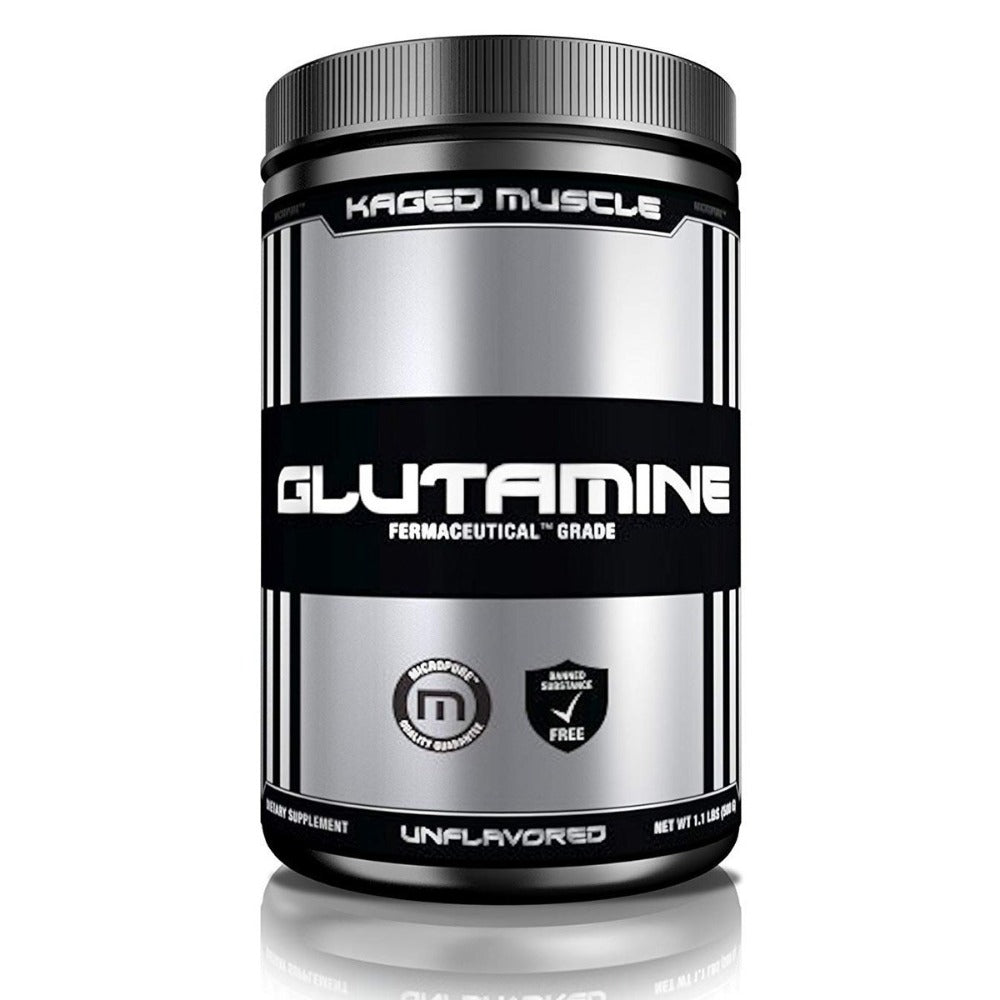 Kaged Muscle Glutamine 100 Servings Amino Acids Kaged Muscle  (1532102213675)