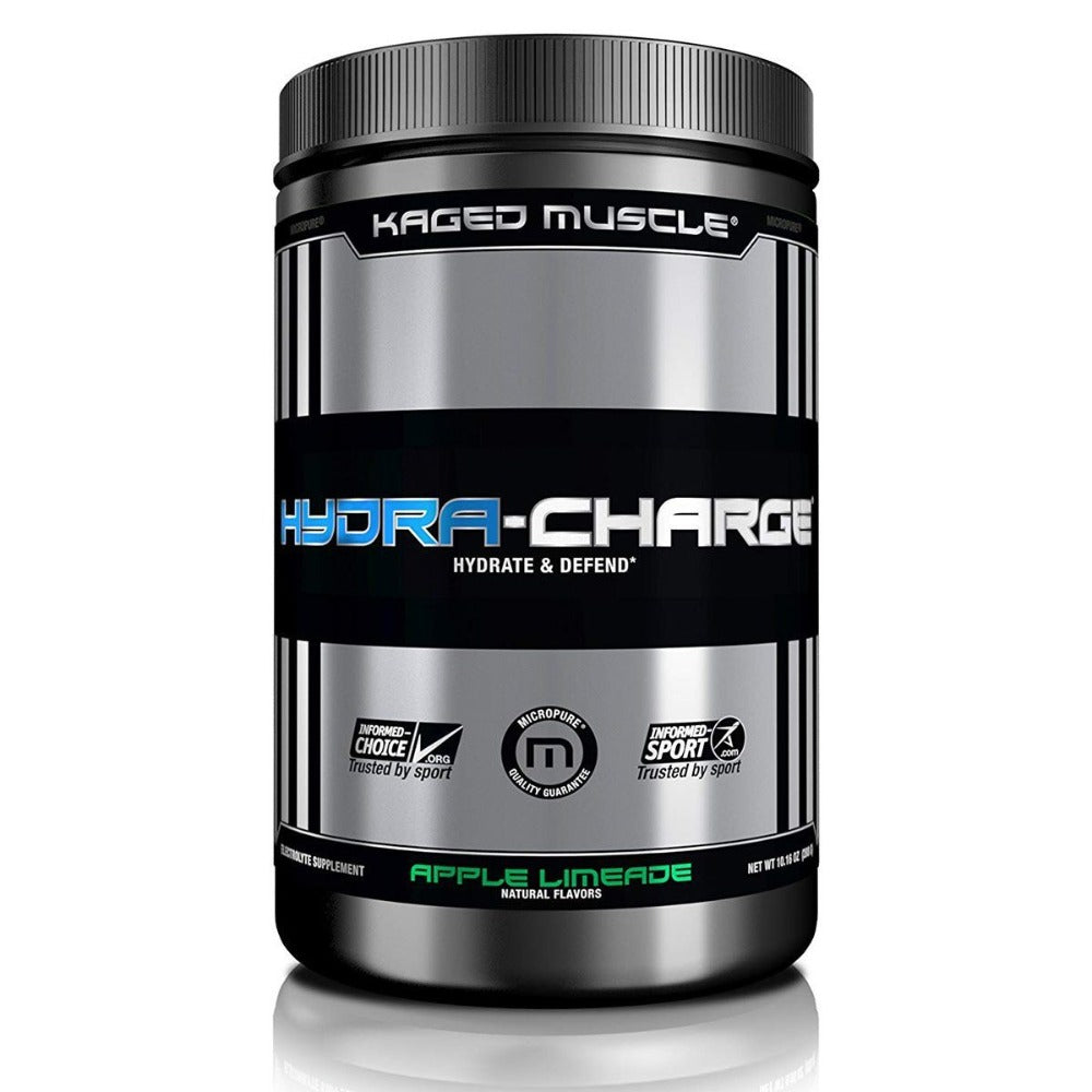 Hydra-Charge 60 Servings Sports Performance Recovery Kaged Muscle Apple Limeade  (1532115550251)