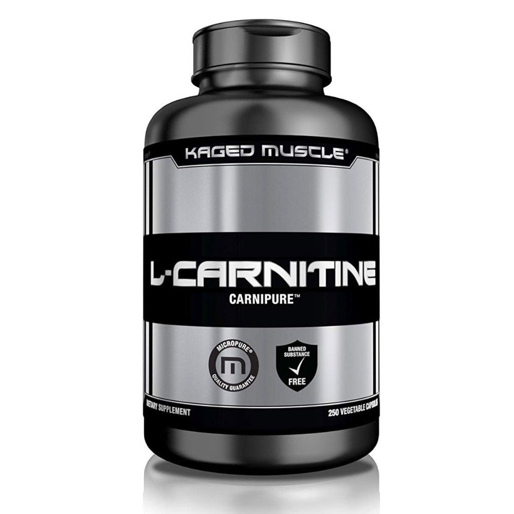Kaged Muscle Carnipure L-Carnitine 250 Vege Caps Amino Acids Kaged Muscle  (1535892848683)