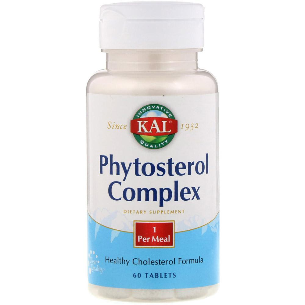 KAL Phytosterol Complex 60 Tablets Specialty Health Products Kal