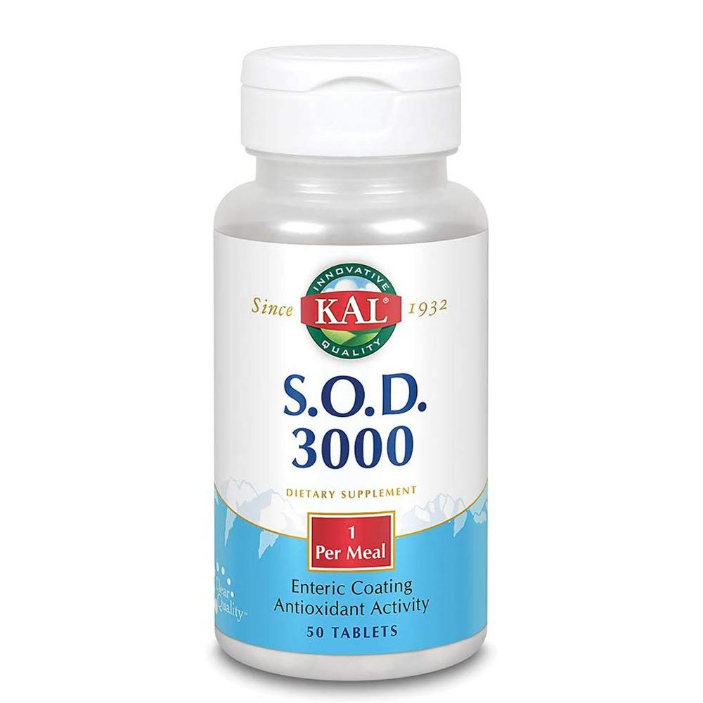 KAL SOD 3000 100T Specialty Health Products Kal  (4358331138113)