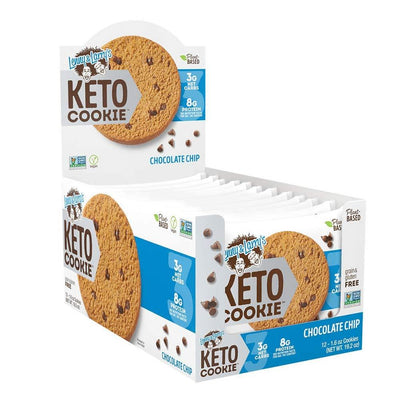 Lenny Larry's Keto Cookies 12/box Foods Juices Lenny & Larry's Chocolate Chip  (4283187134507)