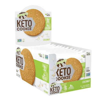 Lenny Larry's Keto Cookies 12/box Foods Juices Lenny & Larry's Coconut  (4283187134507)