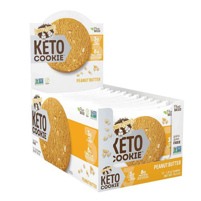 Lenny Larry's Keto Cookies 12/box Foods Juices Lenny & Larry's Peanut Butter  (4283187134507)