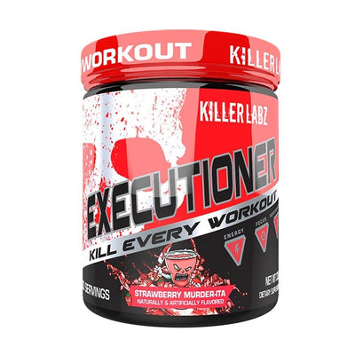 Killer Labz Executioner 30/sv Pre-Workouts Killer Labz Strawberry Murder-ita