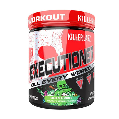Killer Labz Executioner 30/sv Pre-Workouts Killer Labz Sour Slaughter