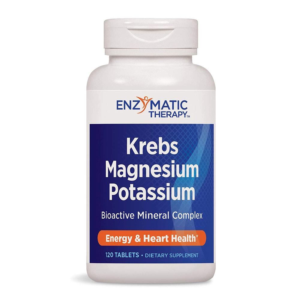 Enzymatic Therapy Krebs Magnesium Potassium 120ct | Energy & Heart Health Specialty Health Products Enzymatic Therapy  (1769603956779)
