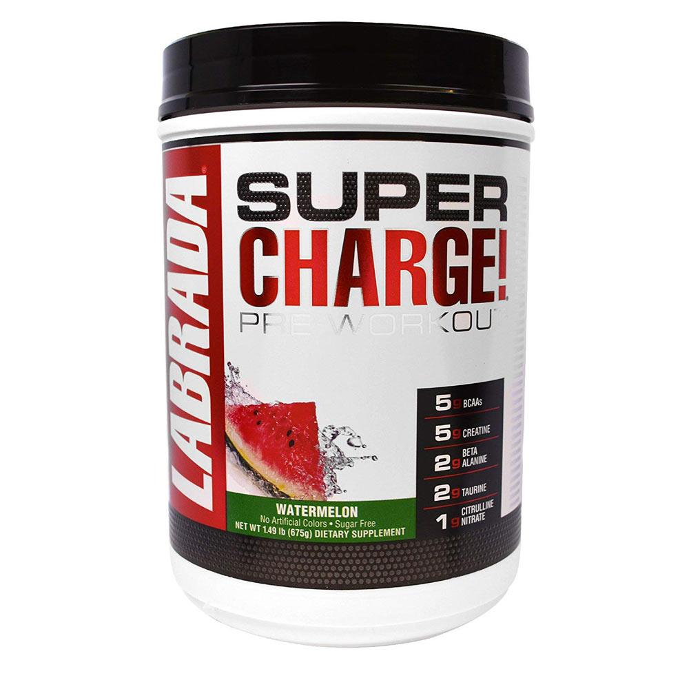 Labrada Nutrition Super Charge 25 Servings | Pre-Workout Unclassified Labrada Nutrition Watermelon  (1753743163435)