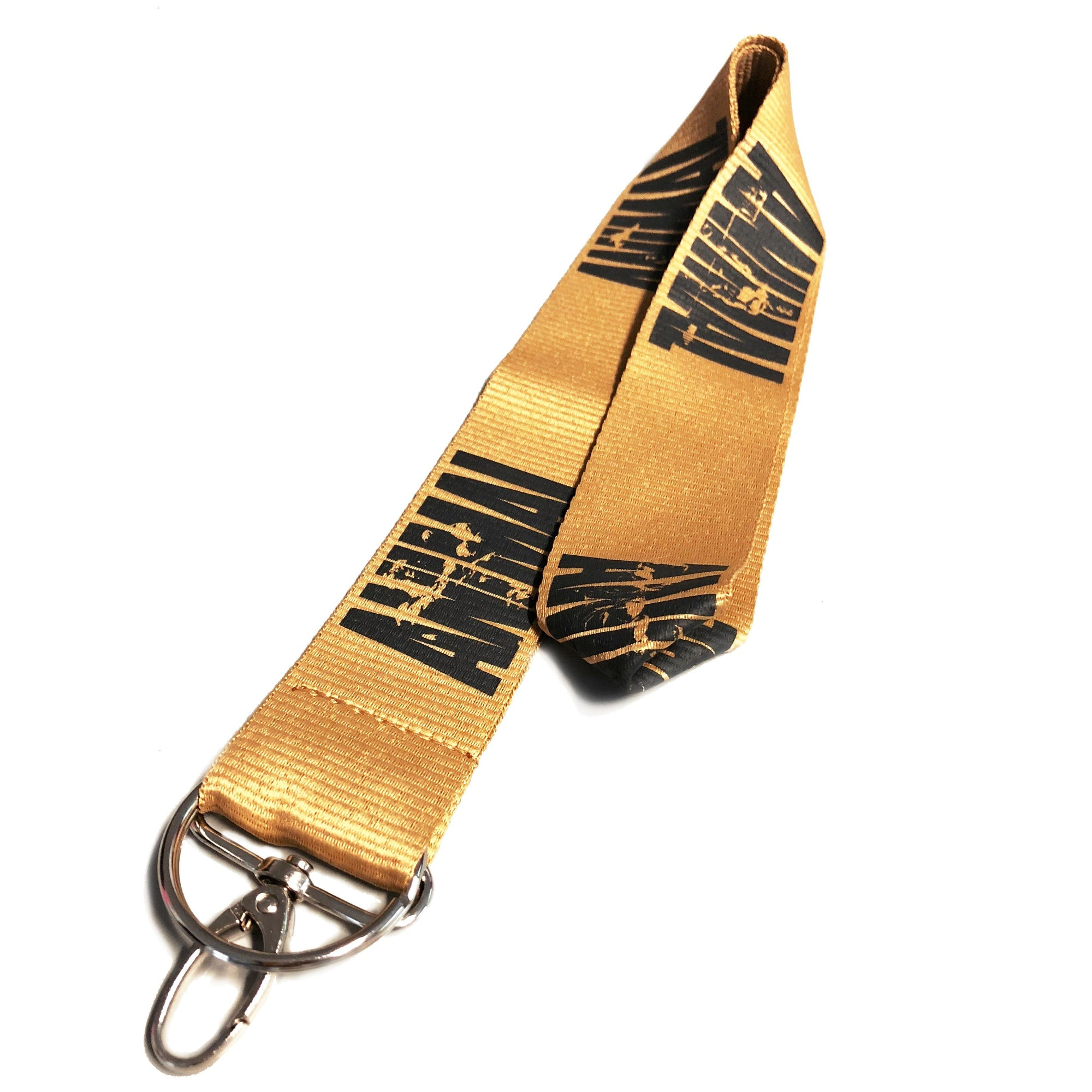 Universal Animal Yellow/Gold Lanyard Fitness Accessories and Apparel Universal  (1263135129643)