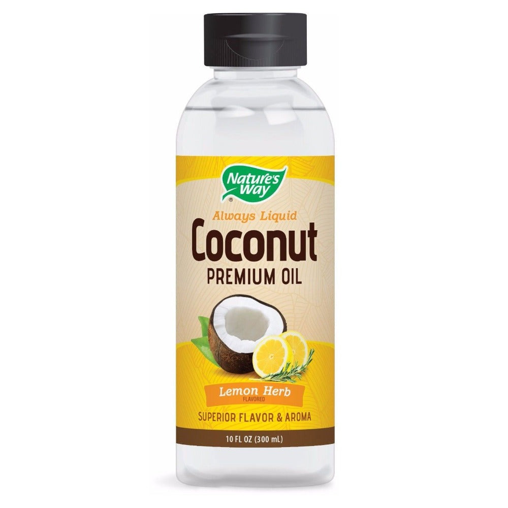 Nature's Way Liquid Coconut Oil 10 Fl Oz Specialty Health Products Nature's Way  (1059199025195)