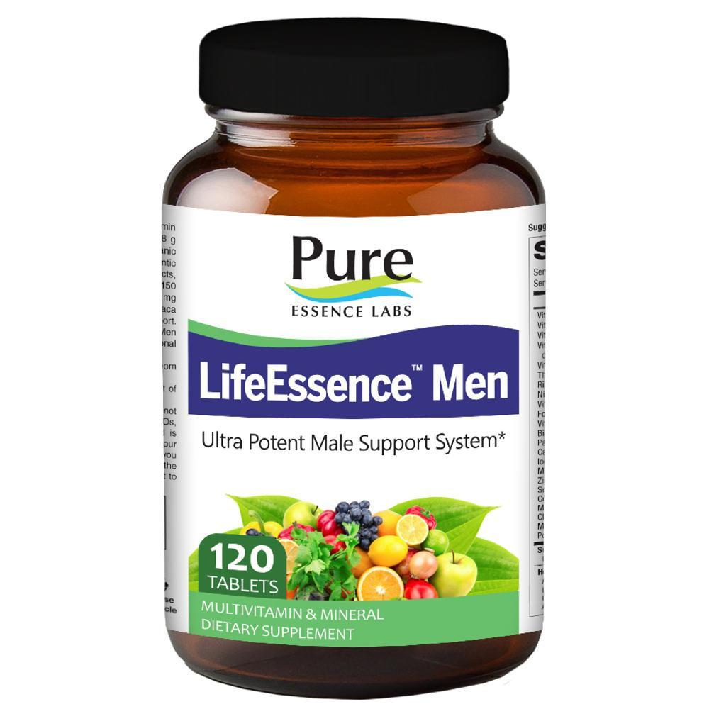 Pure Essence Labs Life Essence Multi Vitamin 120 Tabs Vitamins Pure Essence Labs  (1057979269163)