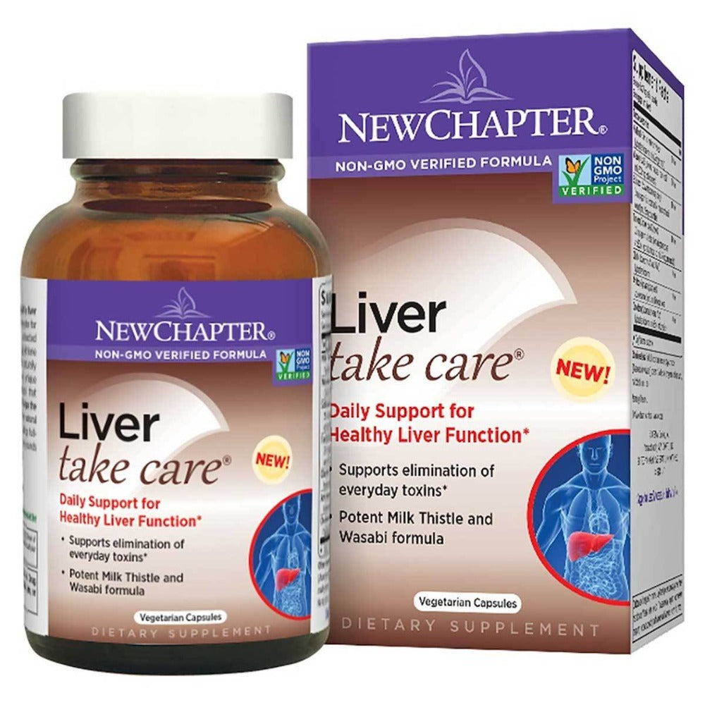 New Chapter Liver Take Care 60 Vege Caps Other Supplements New Chapter  (1058776743979)