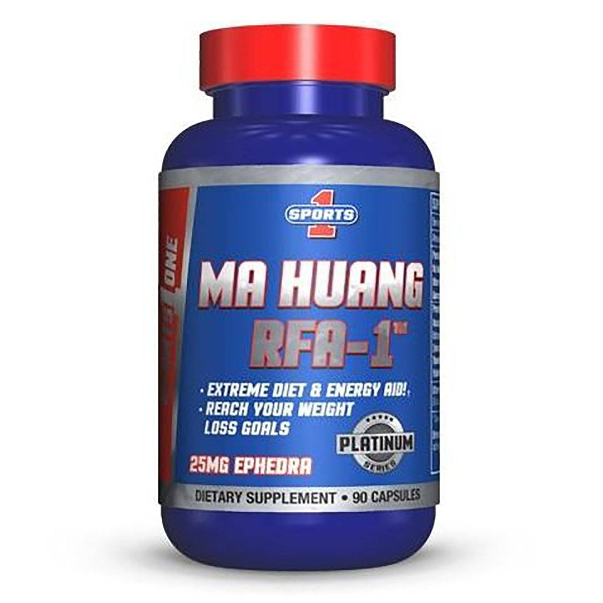 Sports 1 MA HUANG RFA-1 90C Diet/Energy Sports One  (1059306864683)
