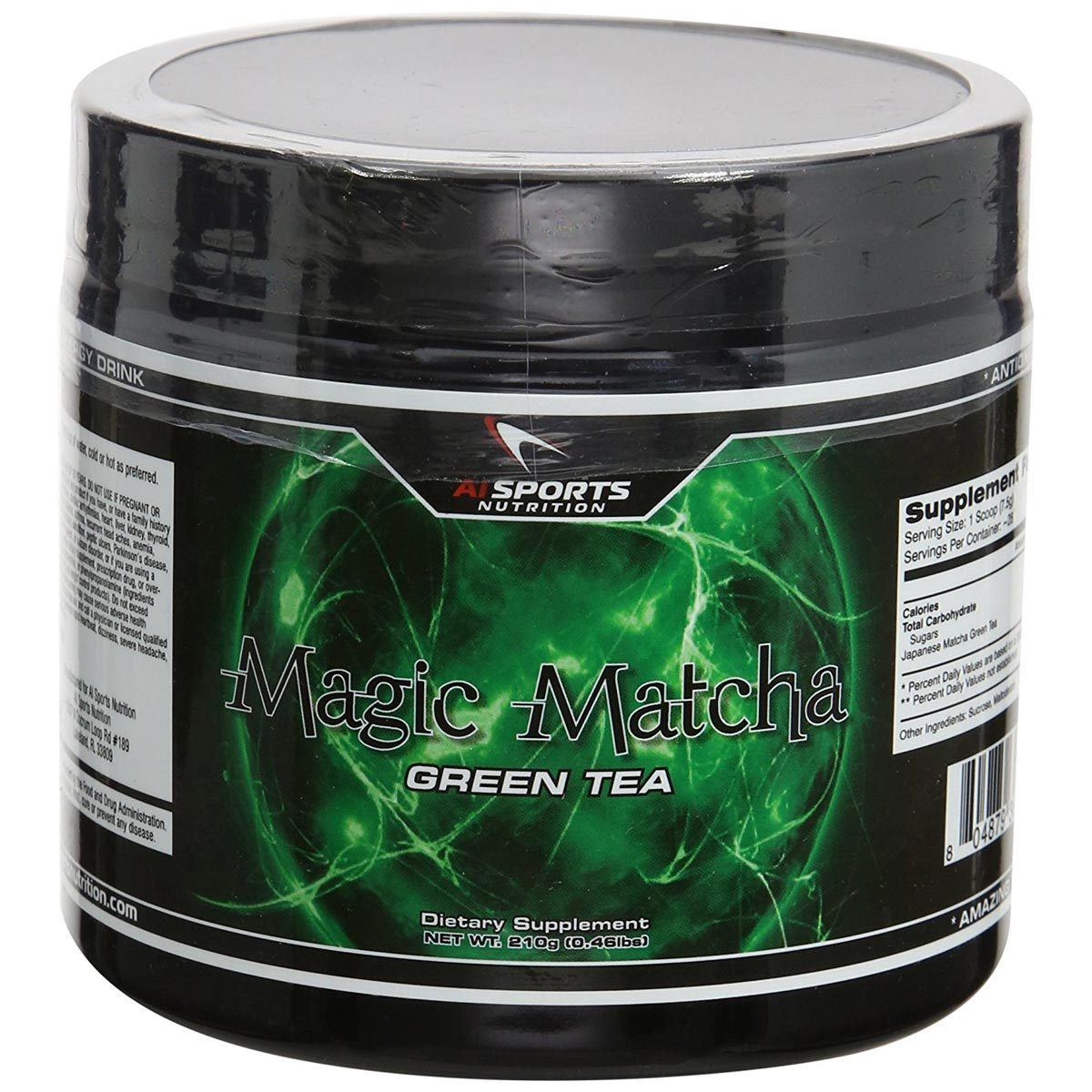 AI Sports Nutrition Magic Matcha 210 Grams Diet/Energy AI Sports Nutrition  (1058778447915)