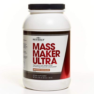 Beverly International Mass Maker Ultra 3 Lbs Protein Beverly International Chocolate  (1057953546283)