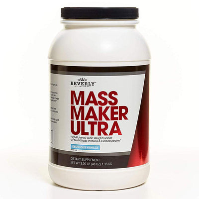 Beverly International Mass Maker Ultra 3 Lbs Protein Beverly International Vanilla  (1057953546283)
